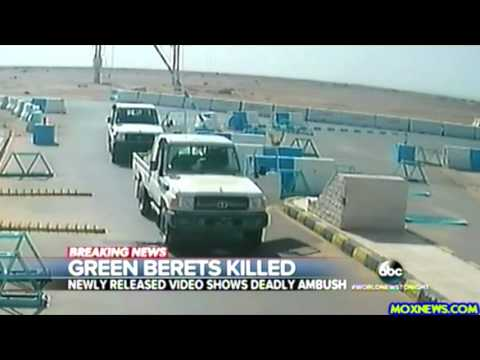 Video Shows 3 U.S. Green Berets Killed In Firefight In Jordan