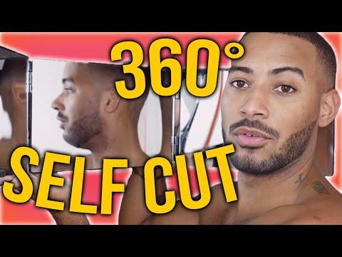 Comment Se Couper Les Cheveux Tout Seul Self Cut 360 Miroir