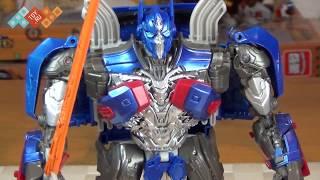 Обзор Трансформеры 5: последний рыцарь - Оптимус Прайм - Hasbro Transformers 5