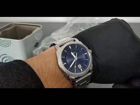 ⌚ Fossil Men's Machine - FS5340 Watch - Unboxing 📦