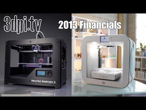 3D Systems and Stratasys Release 2013 Financials
