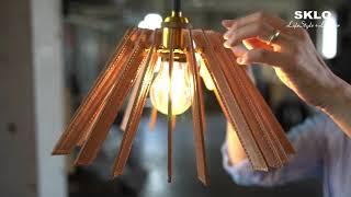 ークラウドファンディングCreema SpringsーSKLO 革と真鍮のペンダント照明 コンセプト動画