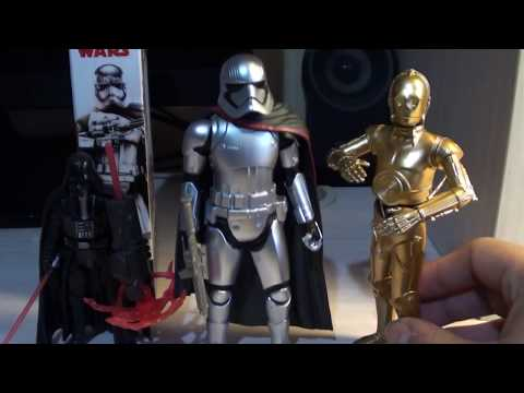 Star Wars Review/ Captain Phasma Basic Figure The Last Jedi Español