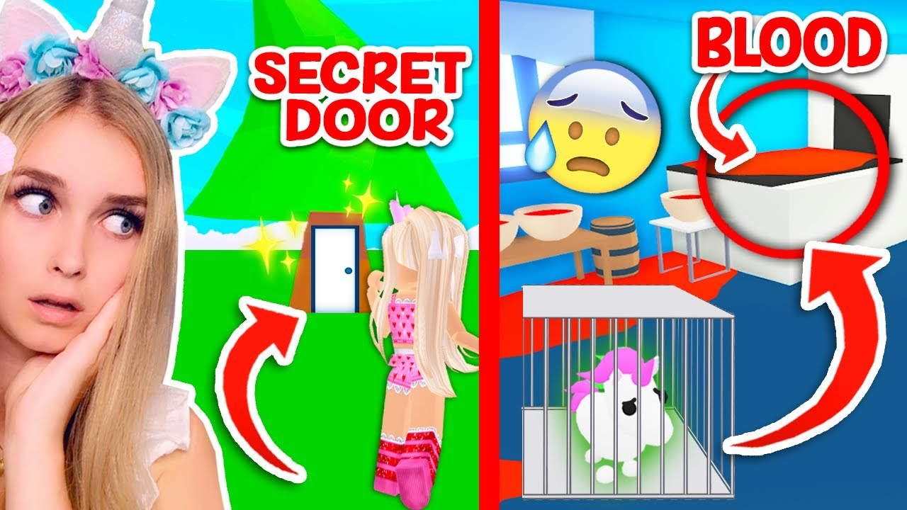 What's Really Behind The Locked Door In Adopt Me / The ...