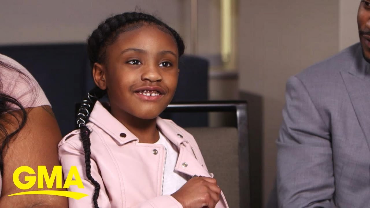 George Floyd's 6-year-old daughter opens up about her dad l GMA