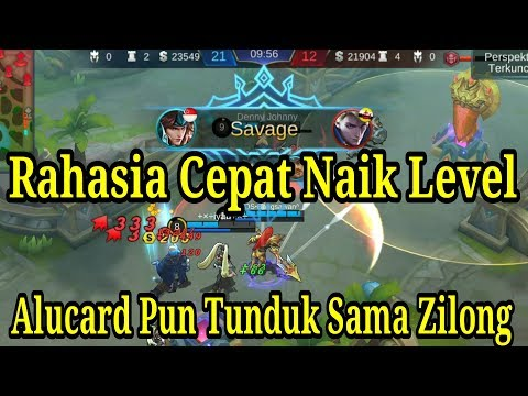 Gameplay Zilong + Build Tombak Tercepat Pasti Savage