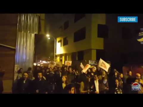 Protest in Istanbul Turkey reported by global reality TV