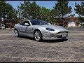 2002 Aston Martin DB7 Vantage in Stronsay Silver & V12 Engine Sound My Car Story with Lou Costabile