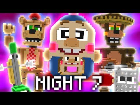 Minecraft FNAF 6 Night 7 - THE GRAND FINALE?! (Minecraft FNAF Roleplay)