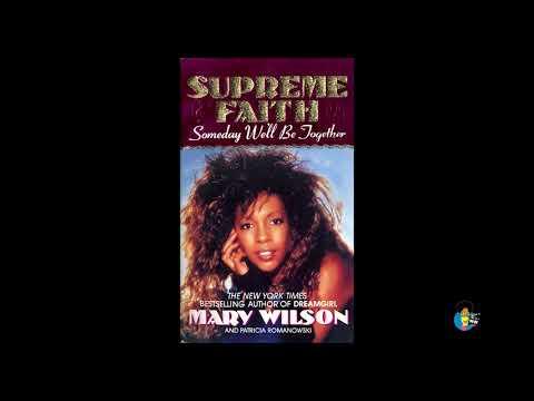 Mary Wilson  Supreme Faith 1990  OOP book
