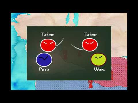 Animated history of all Turkmen (Türkmençe, English, Русские, Türkçe)