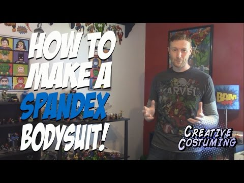 How To Make A Spandex Bodysuit - By Creative Costuming