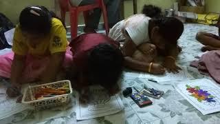 Sree ela academy drawing student