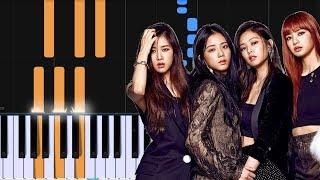"BLACKPINK - ""뚜두뚜두 (DDU-DU DDU-DU)"" Piano Tutorial - Chords - How To Play - Cover"