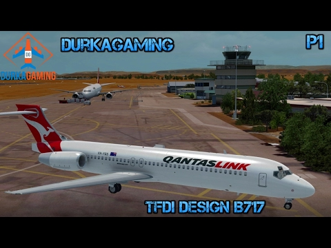 P3D - TFDI Design B717-Alice Springs/Ayers Rock-YBAS/YAYE - Part 1