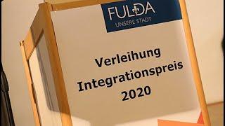 Rede von Dr. Reinhardt Asche bei der Verleihung des Fuldaer Integrationspreises 2020