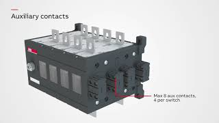 Manual transfer switches 160 3200 A   Installation  operation and accessories