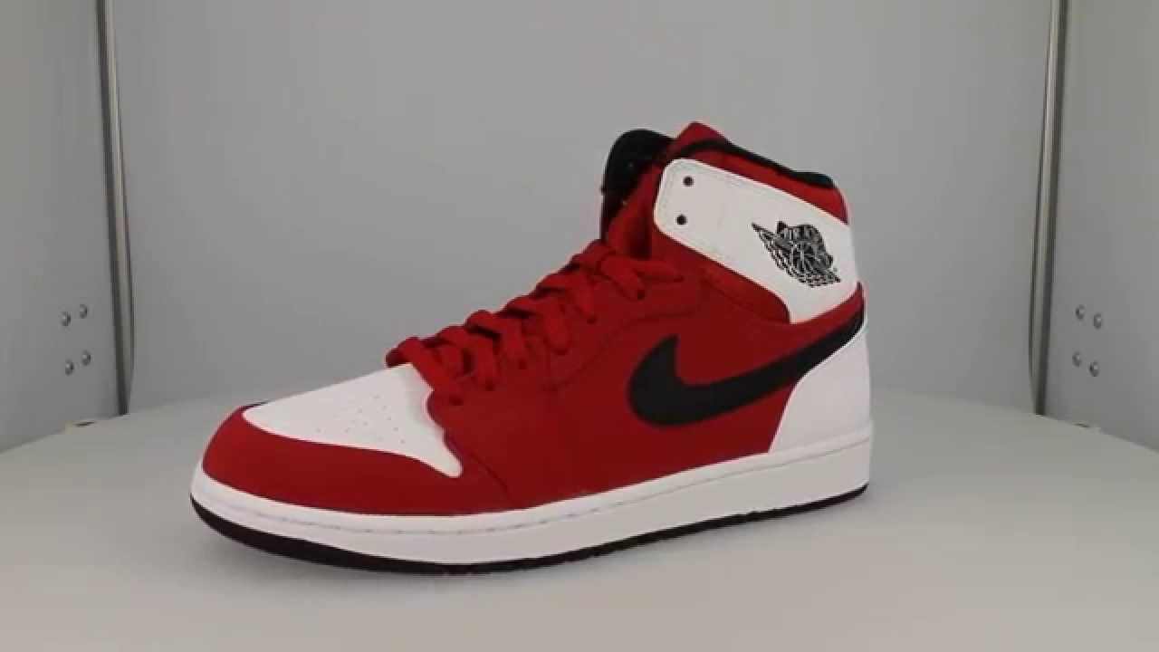 air jordan 1 red black white