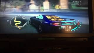 Need For Speed Carbon Xbox 360 Lucky Towers 2:58.33 Darius's Toyota Supra