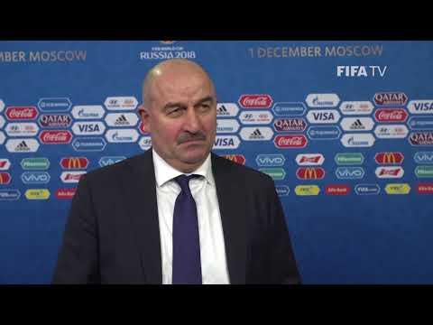 Stanislav CHERCHESOV – Russia - Final Draw Reaction