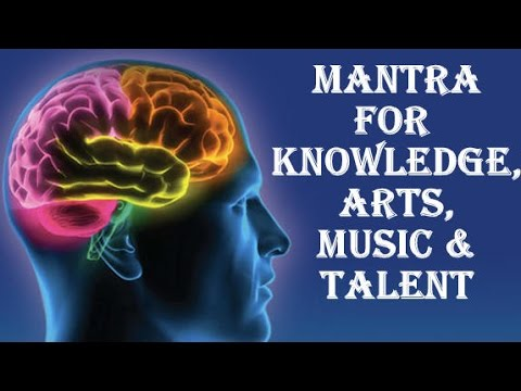SARASWATI MANTRA : VERY POWERFUL FOR KNOWLEDGE