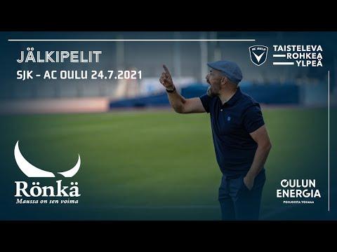 ACOTV: Rönkä jälkipelit SJK - AC Oulu 24.7.2021