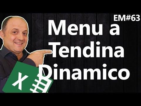 EM 63 Creare un menu a Tendina dinamico con excel (2 metodi)