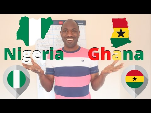 Is Ghana better than Nigeria? #Ghana​🇬🇭🇬🇭 vs #Nigeria🇳🇬🇳🇬