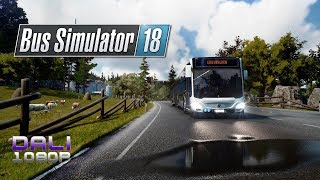 Bus Simulator 18 - Day 1 - Tutorial & First Night Run
