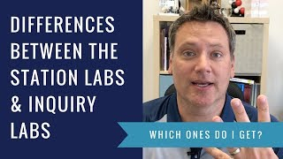 What are the differences between the Kesler Science station labs and inquiry labs?