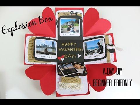 Valentines Day Exploding Box | DIY | Easy/Beginner Friendly