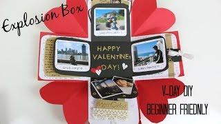Valentines Day Exploding Box   DIY   Easy/Beginner Friendly