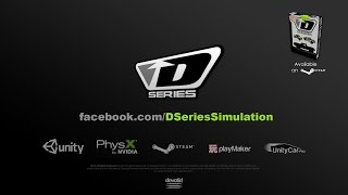 Official D SERIES Off Road Trailer for 2017 Driving Simulation