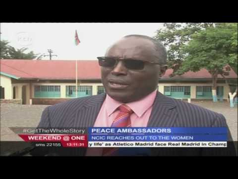 Women in Kenya being recruited as peace ambassadors by NCIC