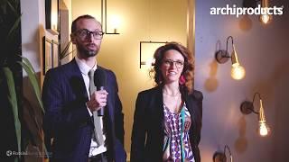 EUROLUCE 2019 | ROSSINI ILLUMINAZIONE - Dario ed Elisa Rossini: In&Out, iGloo e Terrazza Martini