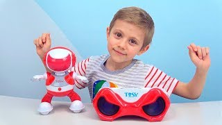 Интерактивный РОБОТ для Детей DiscoRobo - Даник и Игрушки