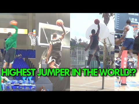 "He's the HIGHEST JUMPER in the WORLD! Will Bunton's 20 BEST DUNKS! 50"" VERTICAL LEAP!"