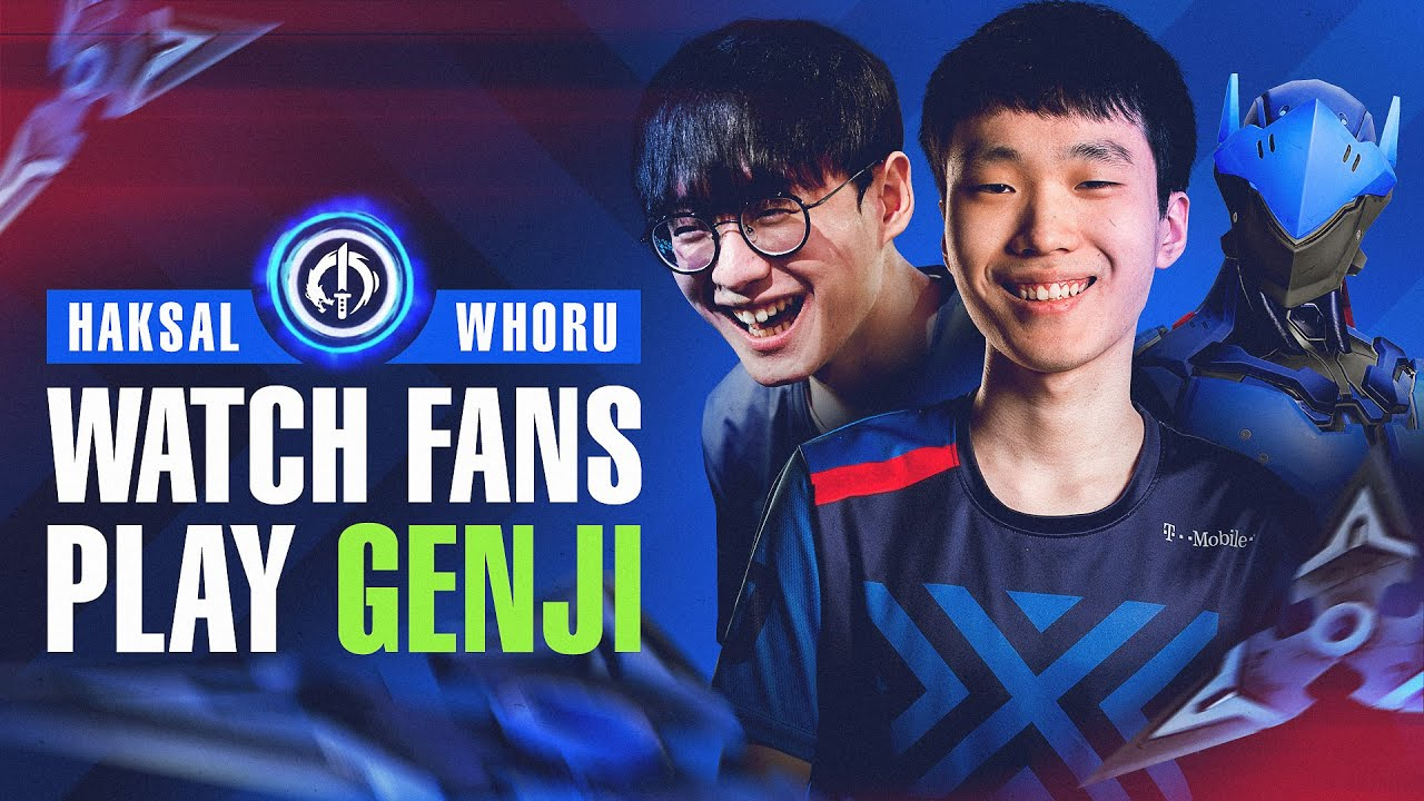 Haksal and WhoRU Teach You How to Play Genji | Rank Up with NYXL