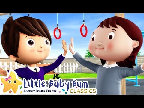 Making Friends Song | +More Nursery Rhymes & Kids Songs - ABCs and 123s | Little Baby Bum