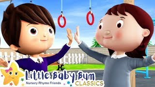 Making Friends Song | +More Nursery Rhymes & Kids Songs - ABCs and 123s | Learn with Little Baby Bum