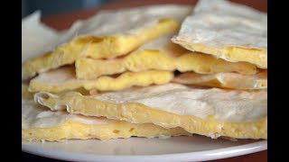 Быстрая закуска из лаваша с сыром за 10 МИНУТ!!!
