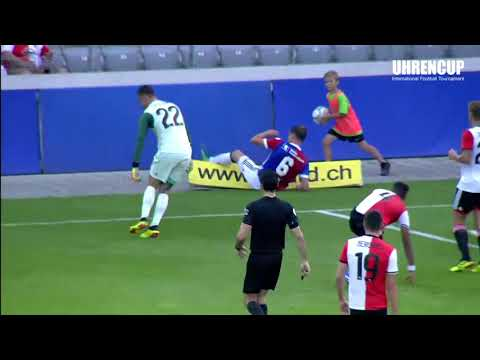 Uhrencup 2018 Match Highlights: FC Basel 0:5 Feyenoord Rotte