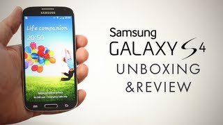 Samsung Galaxy S4 Unboxing & Review (Samsung I9505)
