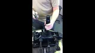 Chair gas lift cylinder removal - Office Master