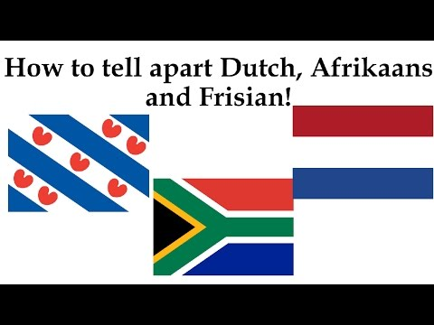 How to tell apart Dutch, Afrikaans and Frisian