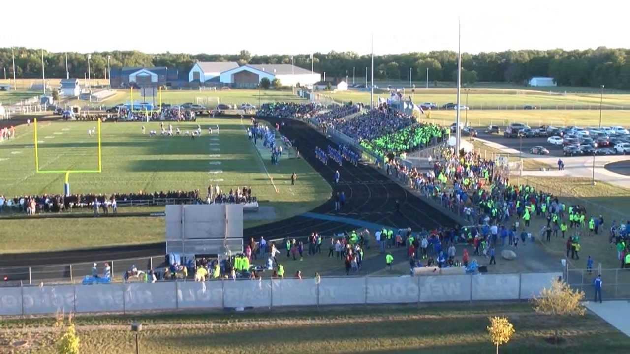 Carroll High School Football Stadium Crowded 2013 - YouTube