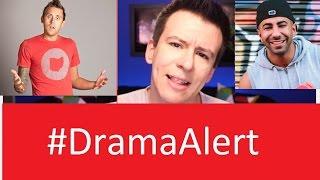 Philip DeFranco calls out RomanAtwood #DramaAlert & Fouseytube for FAKE PRANKS - KSI W2S Sidemen