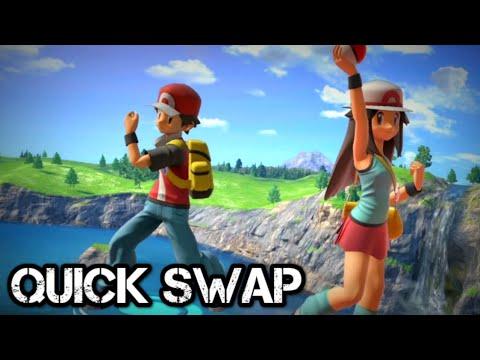 Smash Bros Ultimate - Pokemon Trainer Tech: Quick Swap