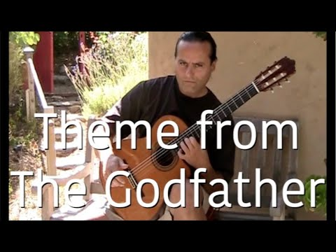 The Godfather Music (Theme) Guitar - Michael Marc (Speak Softly, Love)