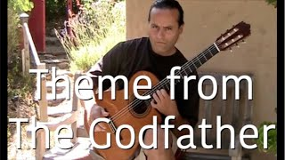 The Godfather Music (Theme) Guitar - Michael Marc (Speak Softl…